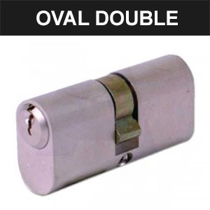 Oval Double Cylinders