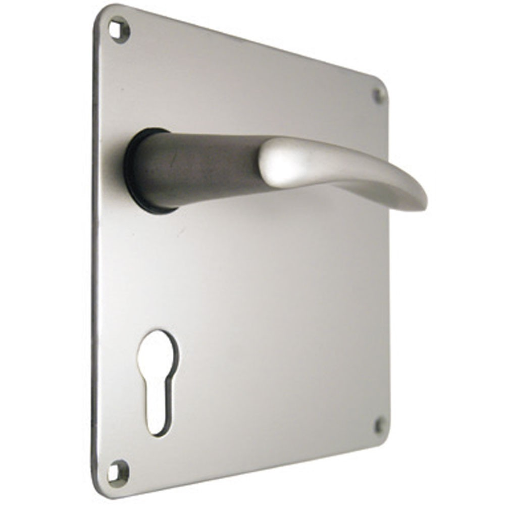 Union Waterbok Door Furniture 152mm Plate Euro