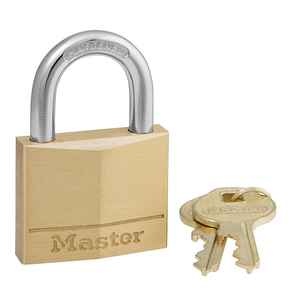 Master Lock 160D Brass Padlock