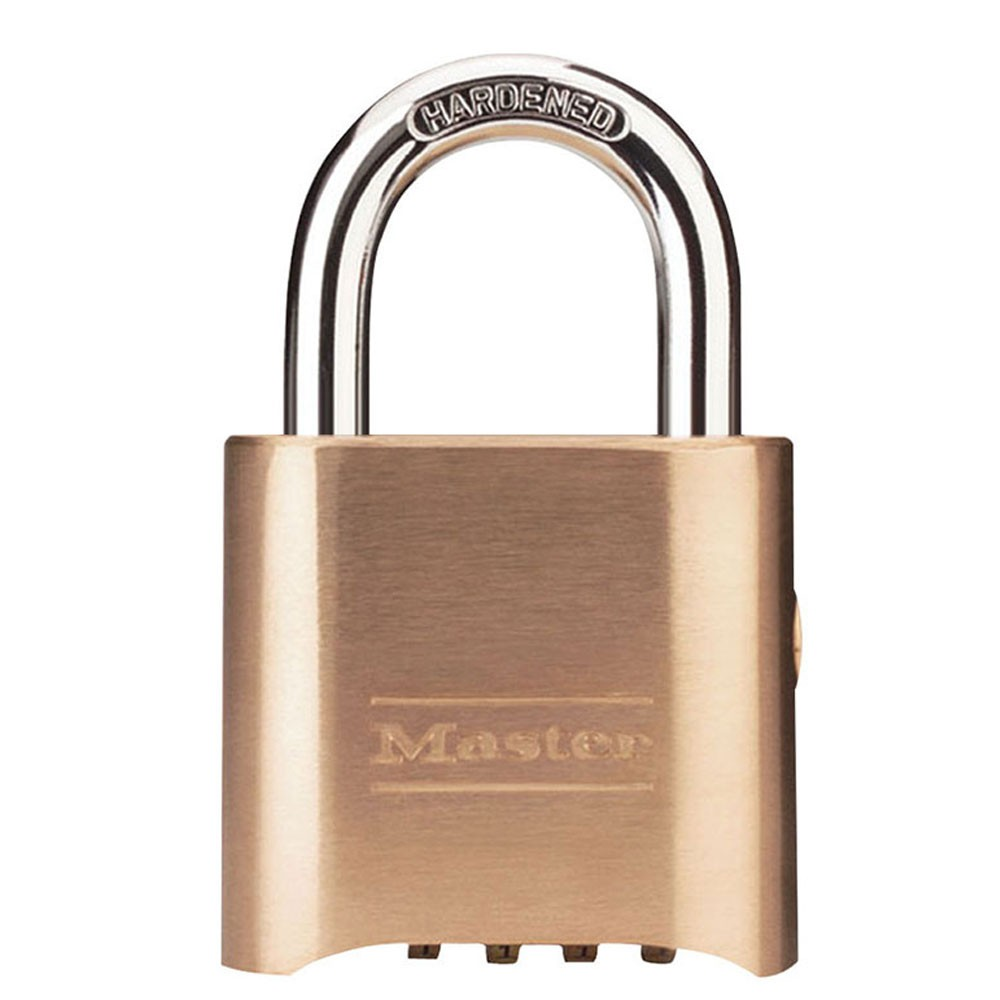 Master Lock Combination Padlock w/ Key Override
