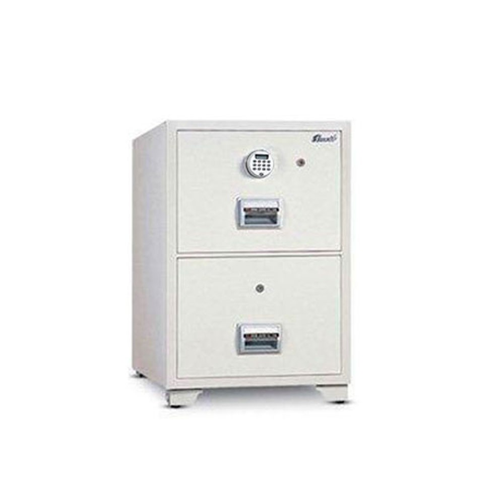 Mutual Fire Resistant Filing Cabinet 2DR Elec