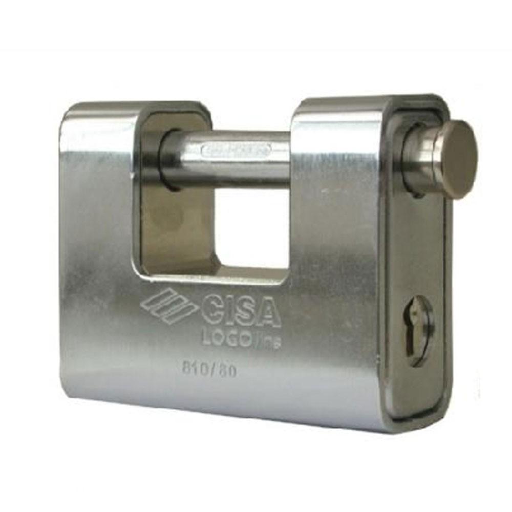 Cisa 21810 Logoline Armoured Lock 80mm