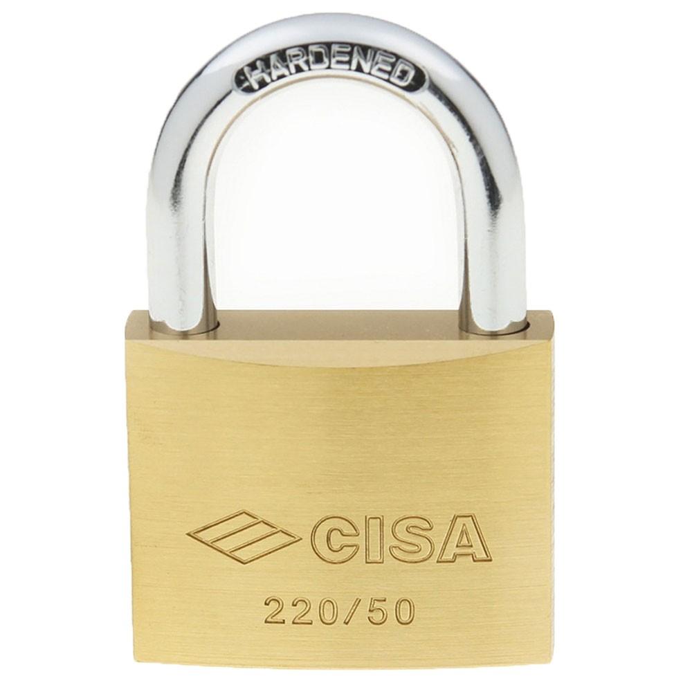 Cisa Brass Padlock 50mm