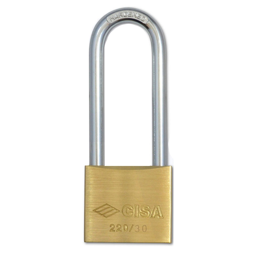 Cisa Padlock Extra Long Shackle 30mm