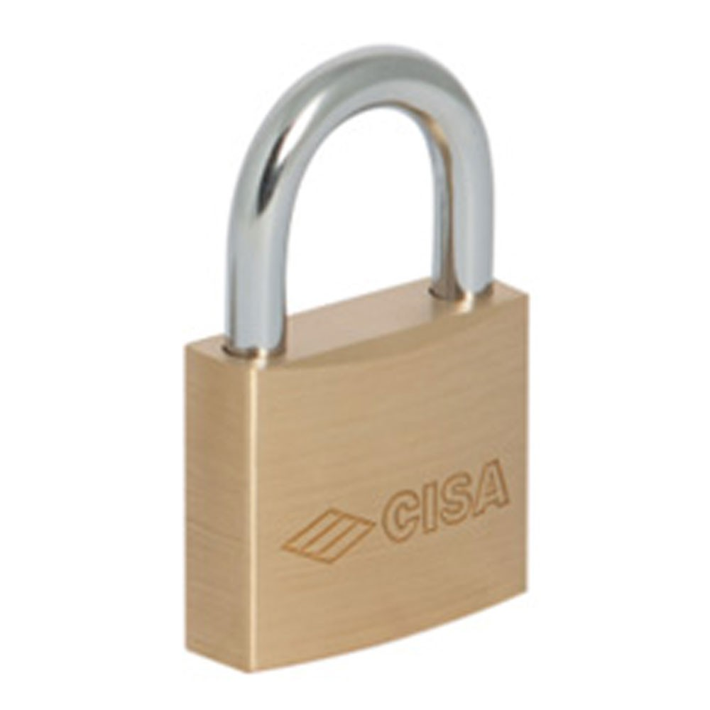 Cisa Padlock SS Shackle 50mm