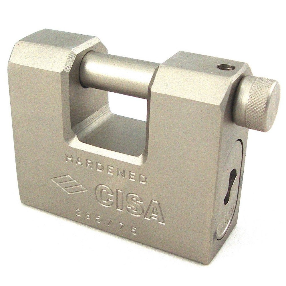 Cisa Straight Shackle Padlock 75mm