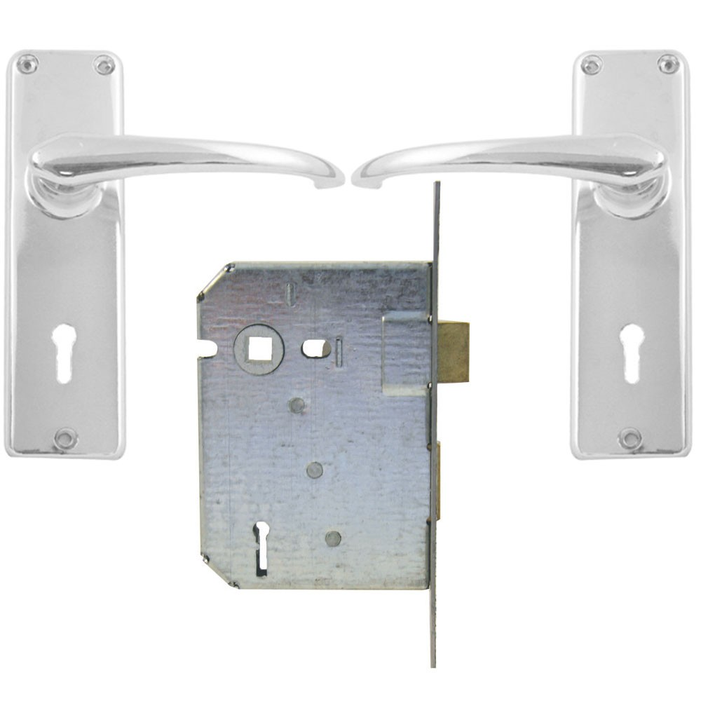 BBL Lockset 2 Lever CH MH Key