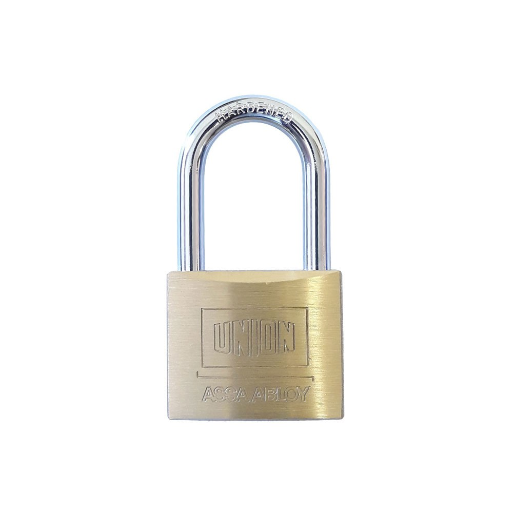 Union Brass Padlock