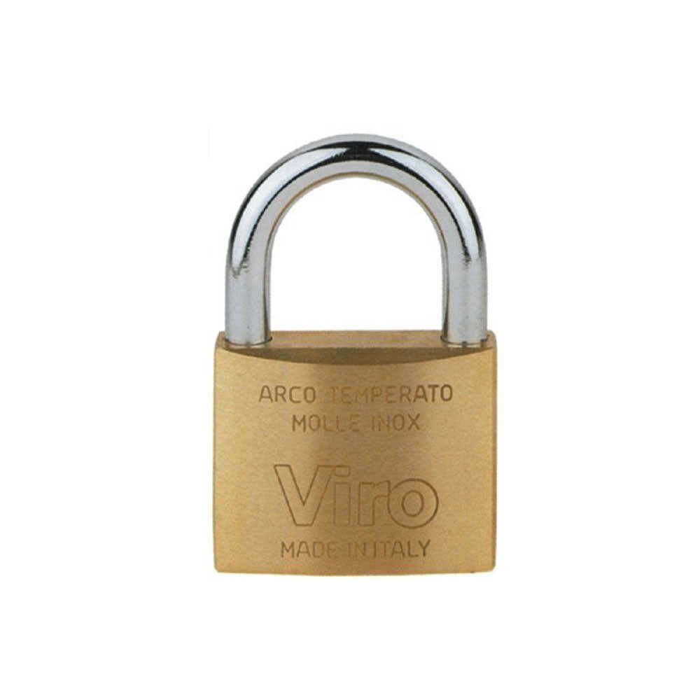 Viro 30mm Brass Padlock