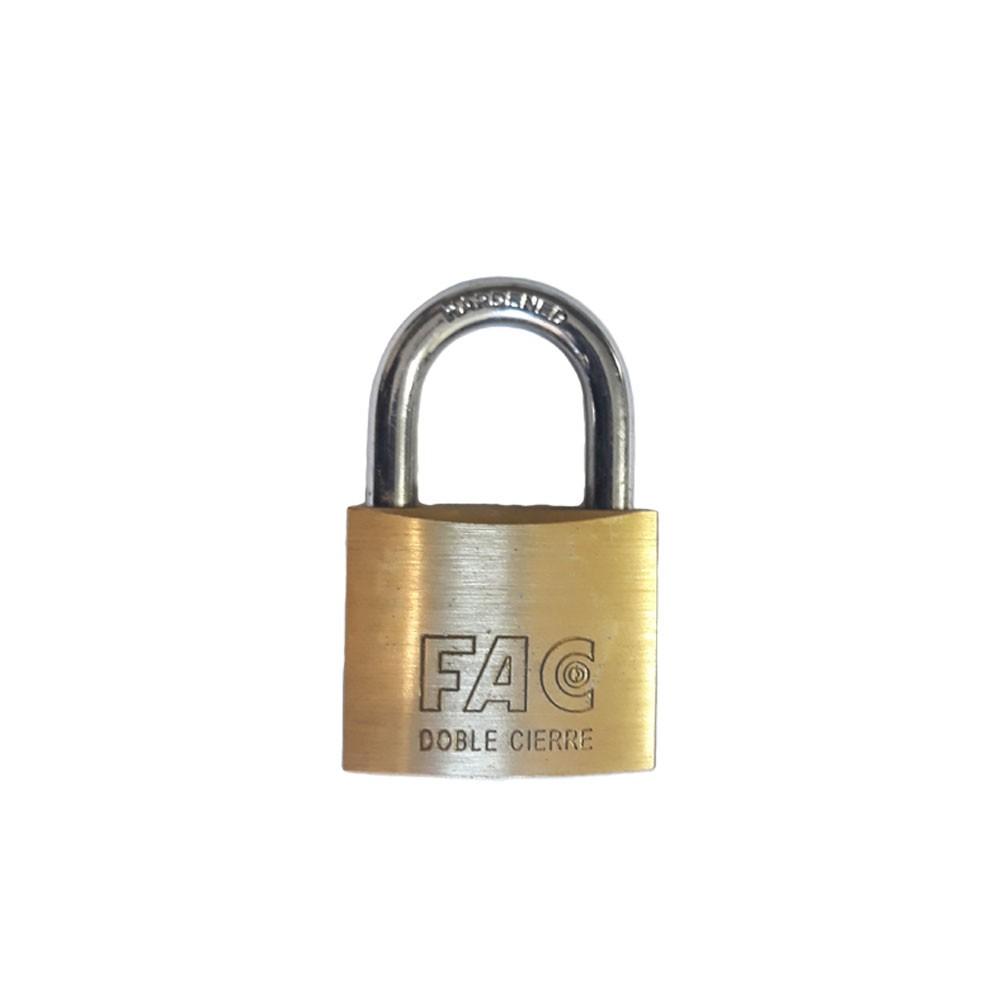 Fortis Brass Padlock 30mm