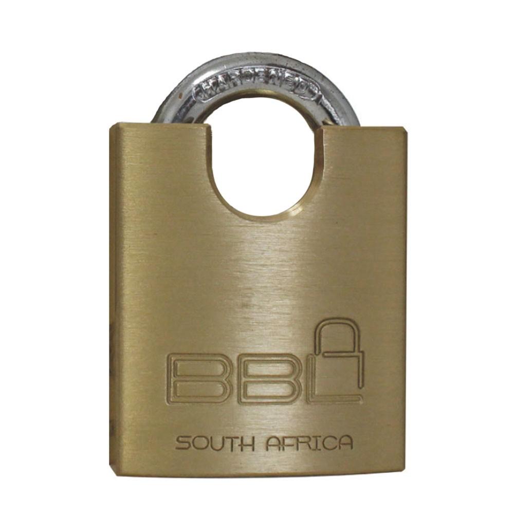 BBL Brass Padlock 40mm CS