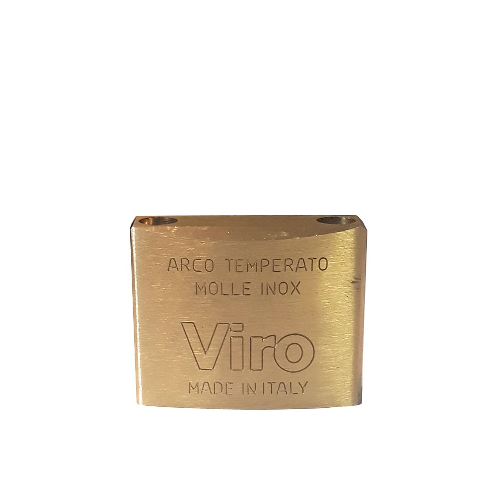 Viro Brass Padlock 40mm Pop Shackle