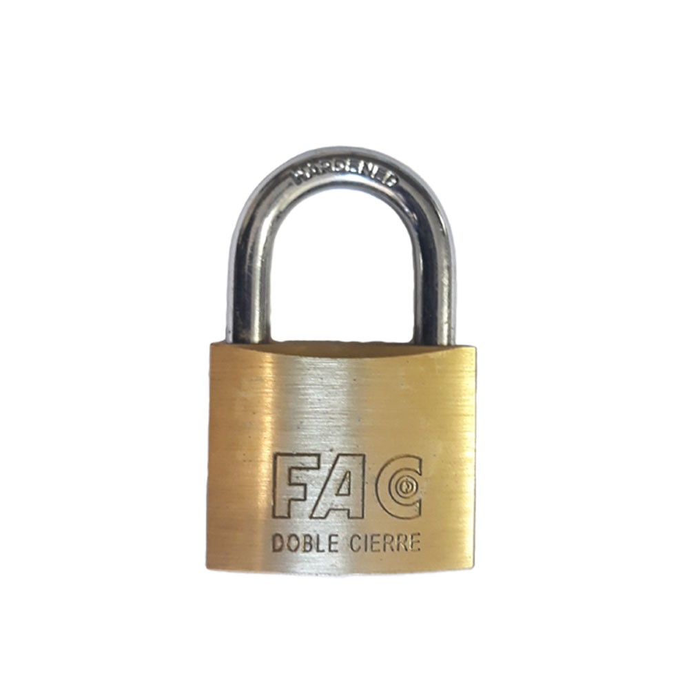 Fortis Brass Padlock 40mm