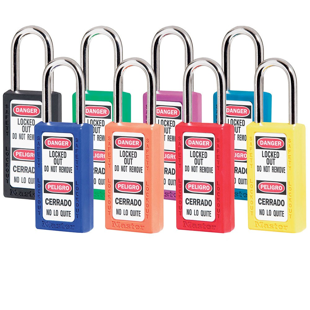 Master Lock 411 Tall Lockout Padlocks