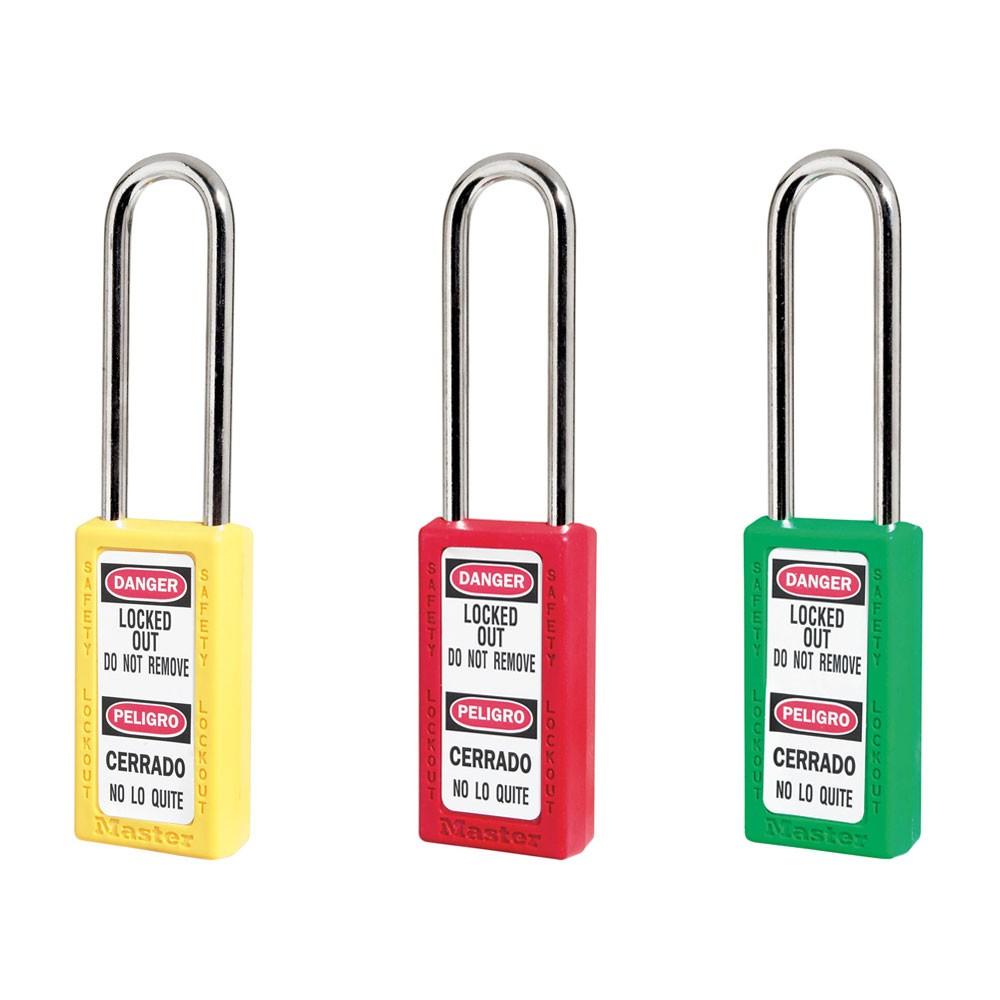 Master Lock 411 Tall Lockout Padlock LS