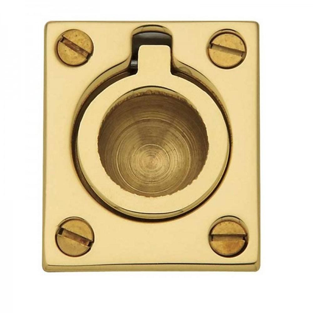 QS Ring Pull 38x48mm Brass
