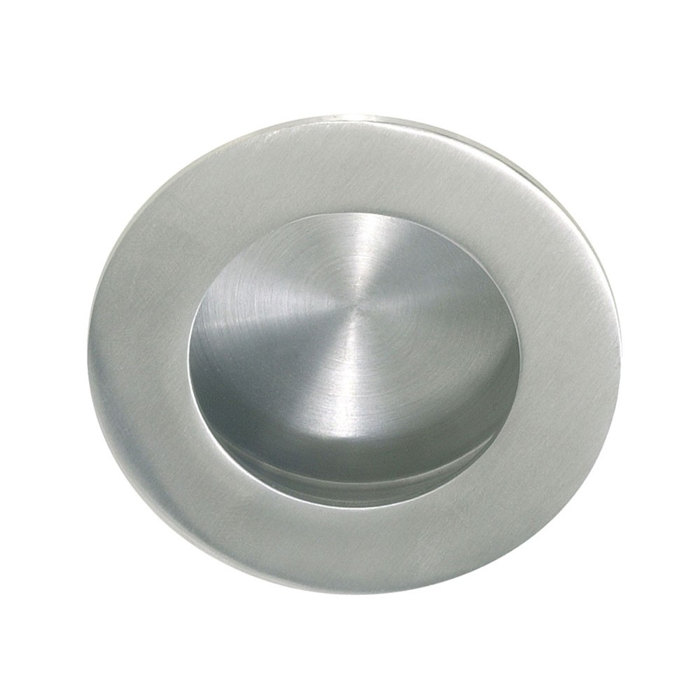 QS Round Flush Pull With Round Pull 50mm