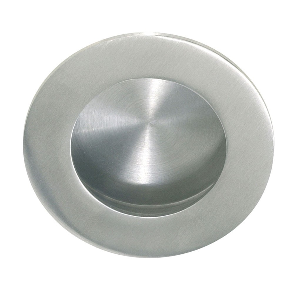 QS Round Flush Pull With Round Pull 65mm