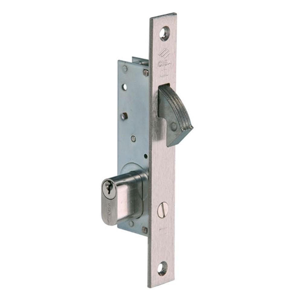 Cisa Hookbolt Lock for Metal Gates - Single Cylinder