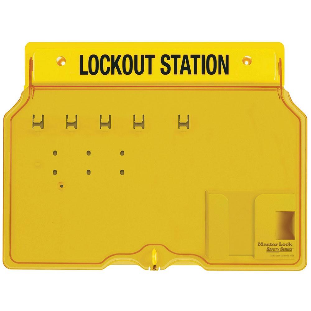Master Lock Lockout Station 1482 Unfilled