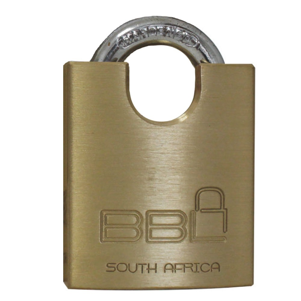 BBL Brass Padlock 50mm CS