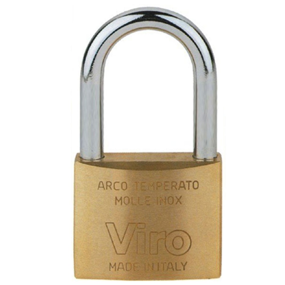 Viro 50mm Brass Padlock LS