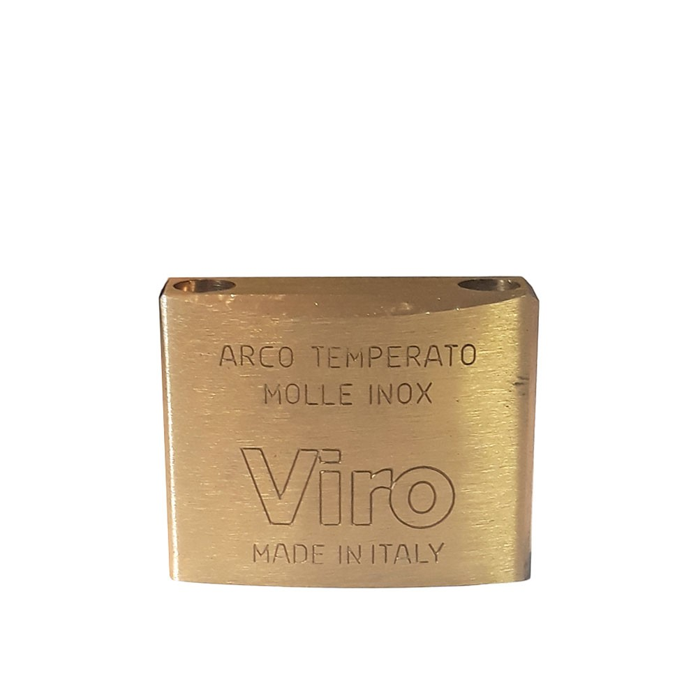 Viro Brass Padlock 50mm Pop Shackle