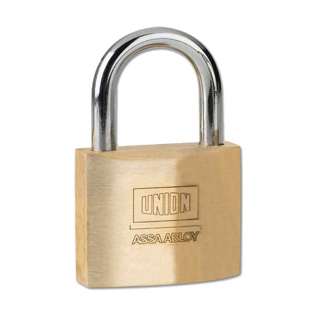 Union SS Shackle Padlock 50mm