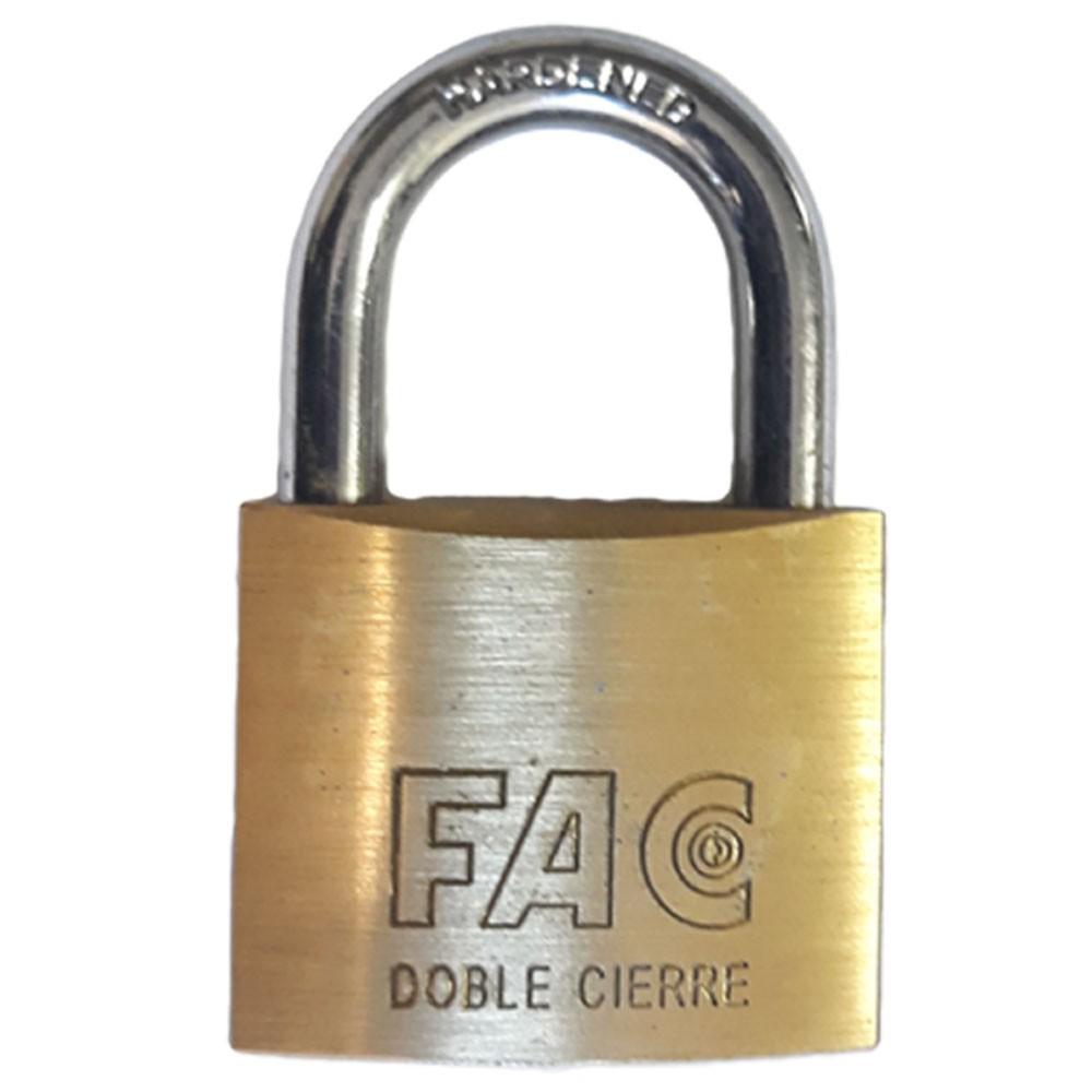 Fortis Brass Padlocks 60mm
