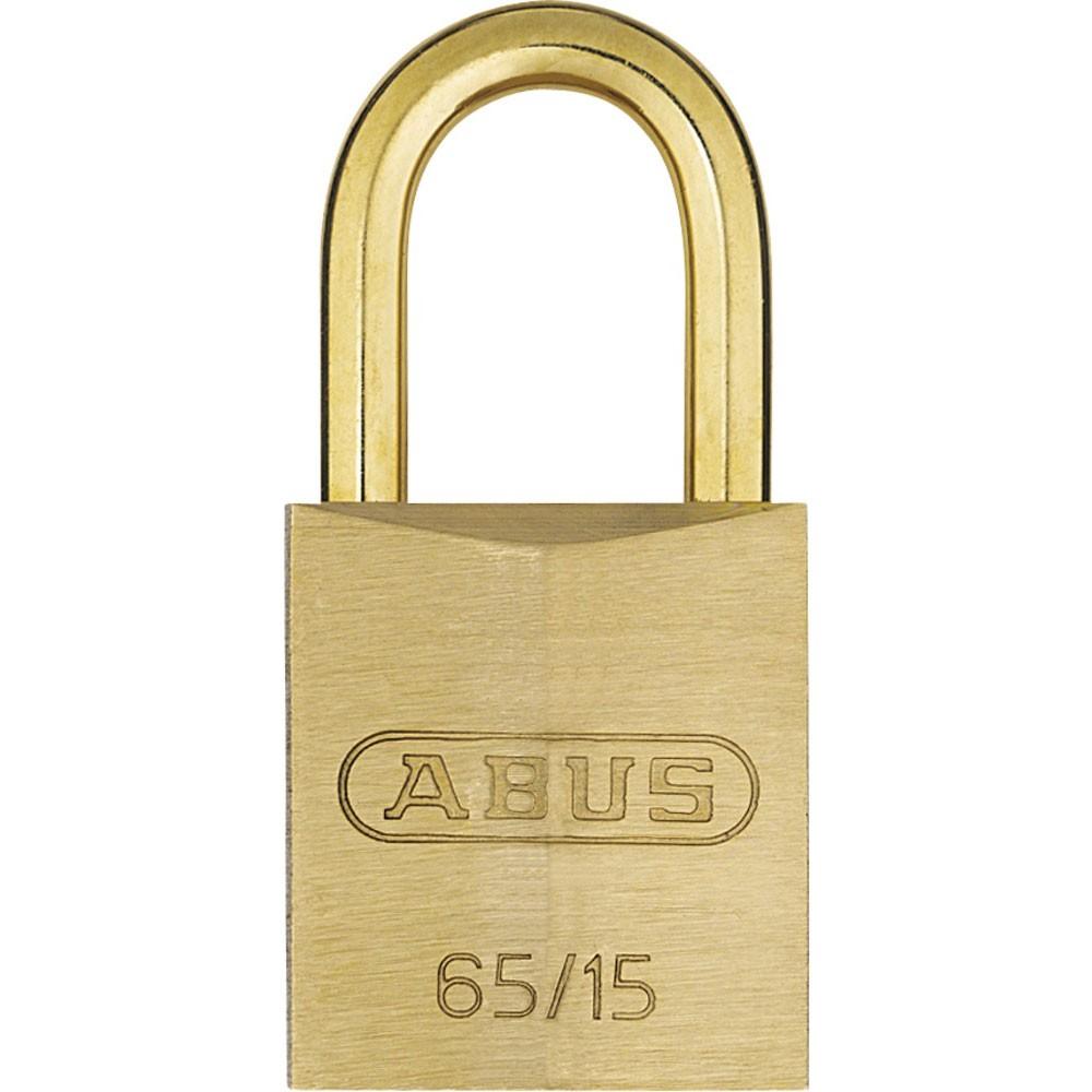 Abus 65MB/15mm Solid Brass Padlock
