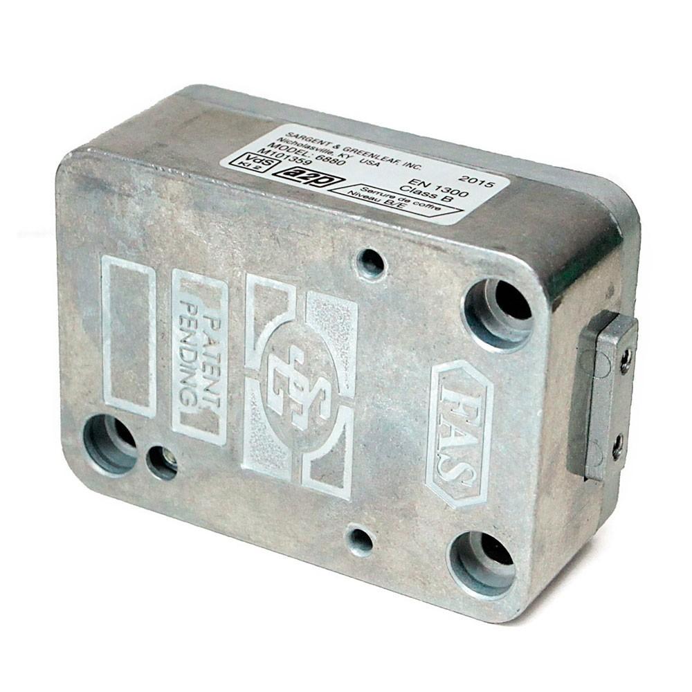 S&G 9 Lever Safe Lock 6880