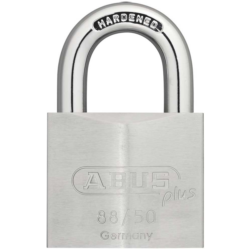 Abus Plus 88 Series Brass Padlock 50mm