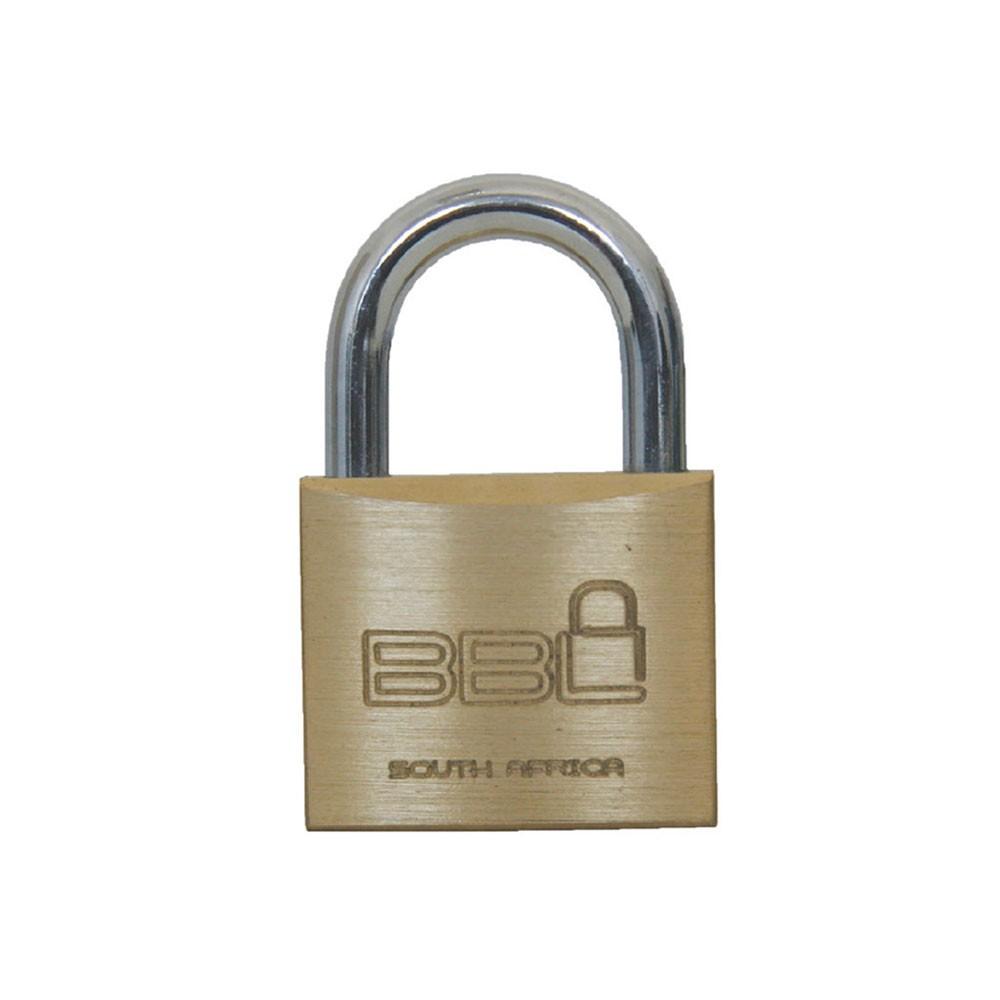 BBL Brass Padlock 20mm