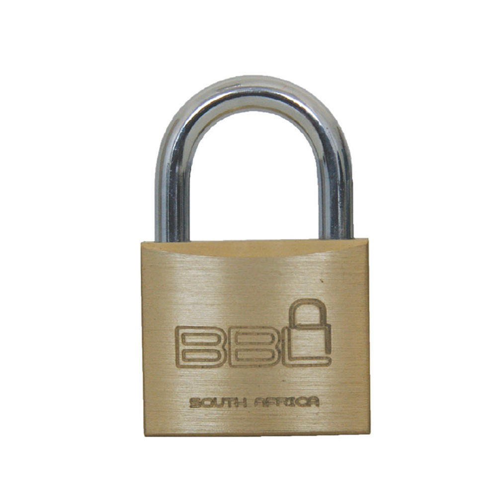 BBL Brass Padlock 25mm