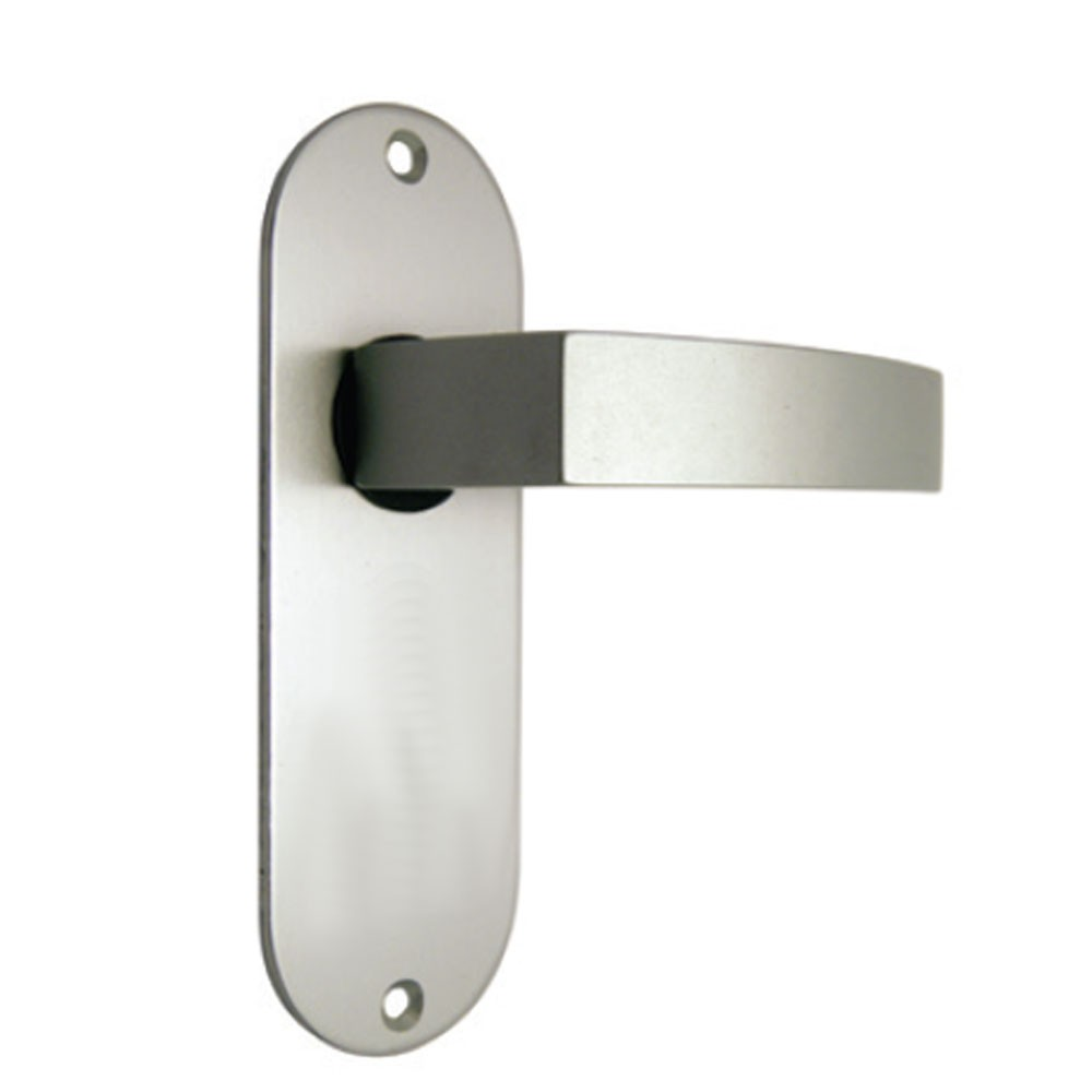 Union Sable Door Furniture On Oval Plate Latch