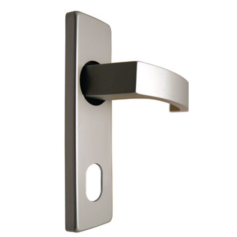 Union Sable Door Furniture On 45mm Plate Oval