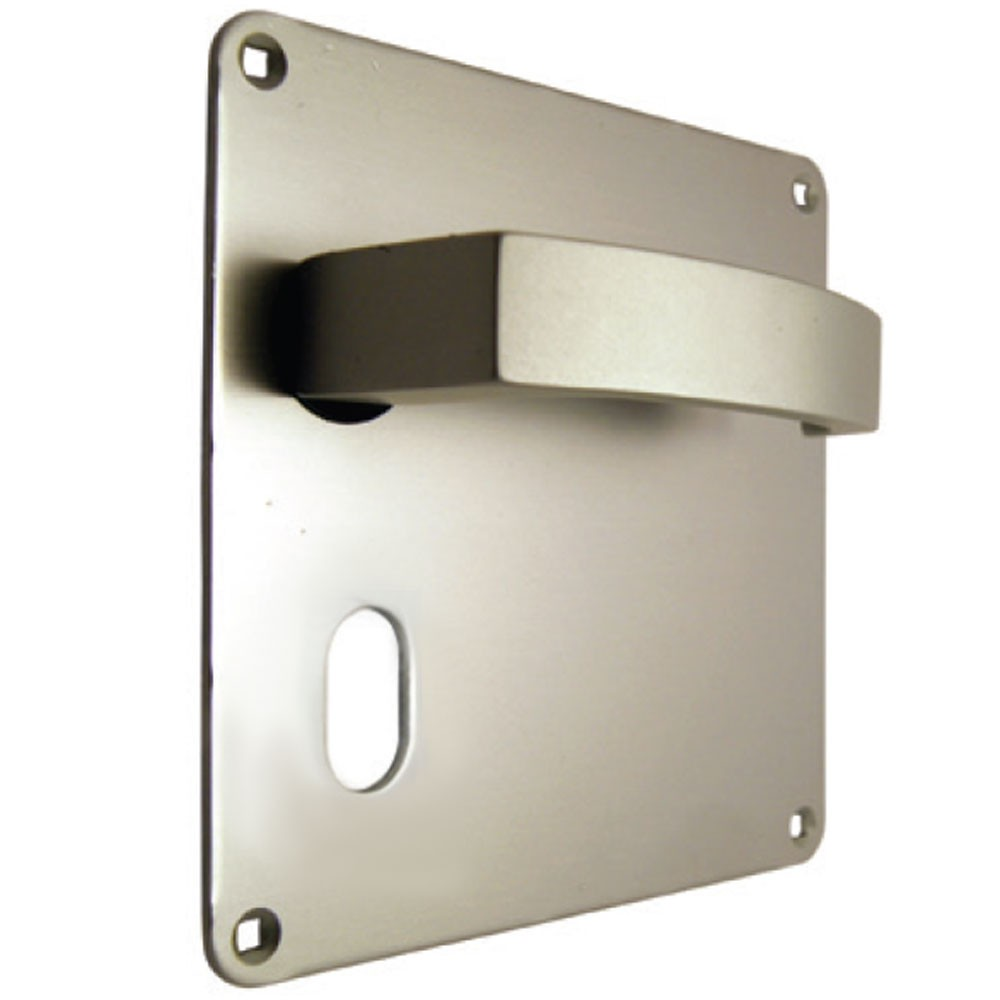 Union Sable Door Furniture On 152mm Plate Oval