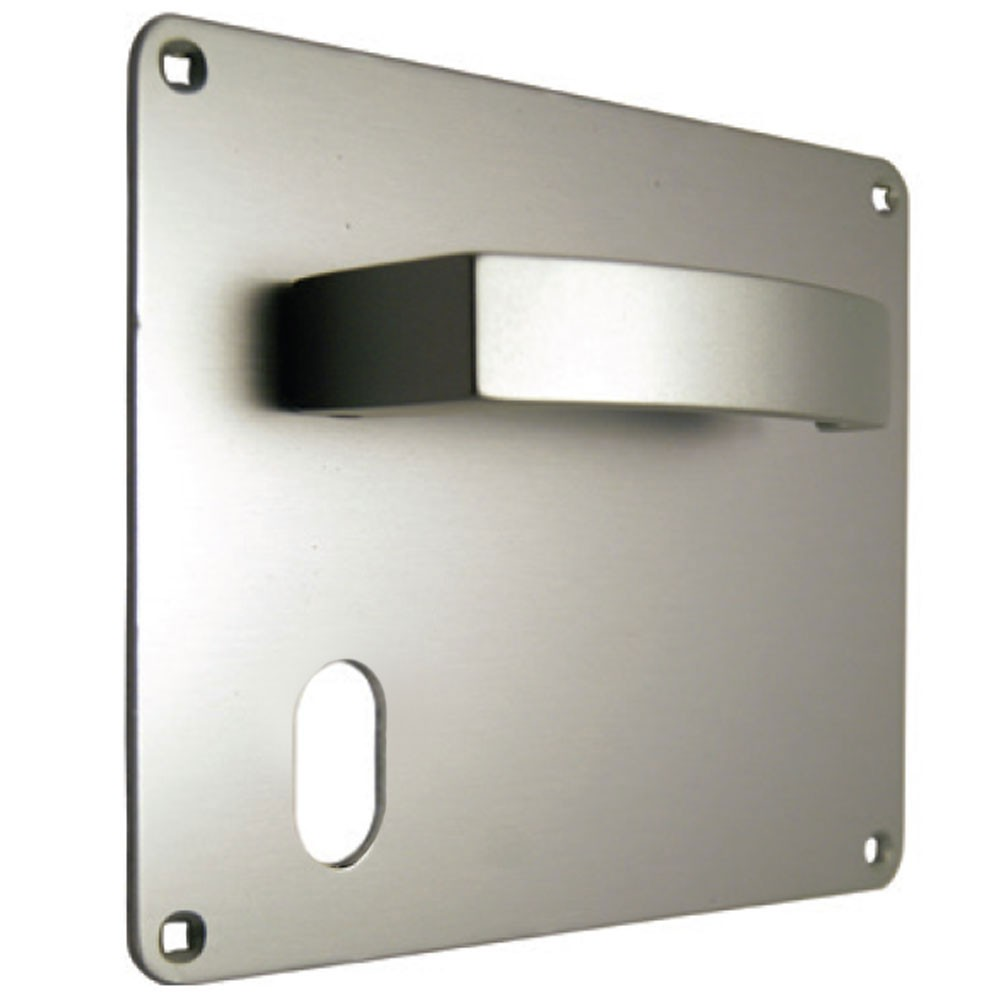 Union Sable Door Furniture On 178mm Plate Oval