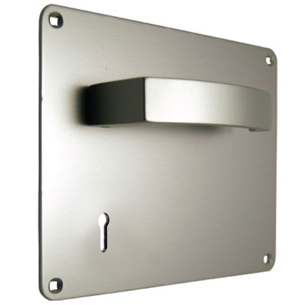 Union Sable Door Furniture On 178mm Plate Lock