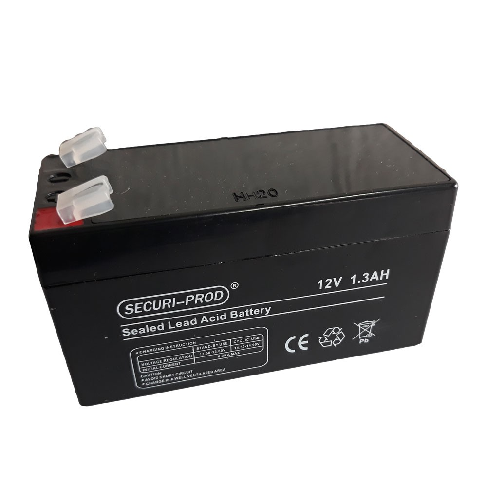 Securi-Prod Battery 12V 1.3AH SLA SP