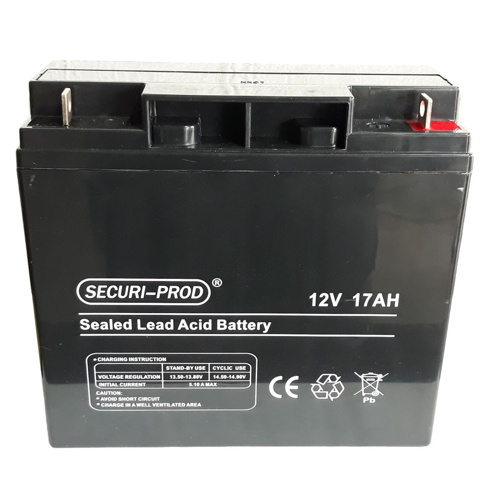 Securi-Prod Battery 12V 17AH SLA