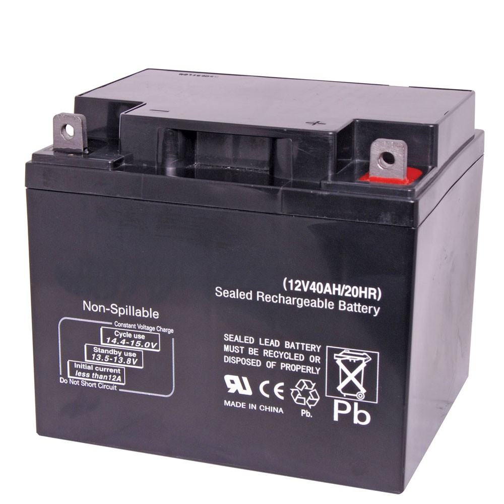 Securi-Prod Battery 12V 40AH SLA