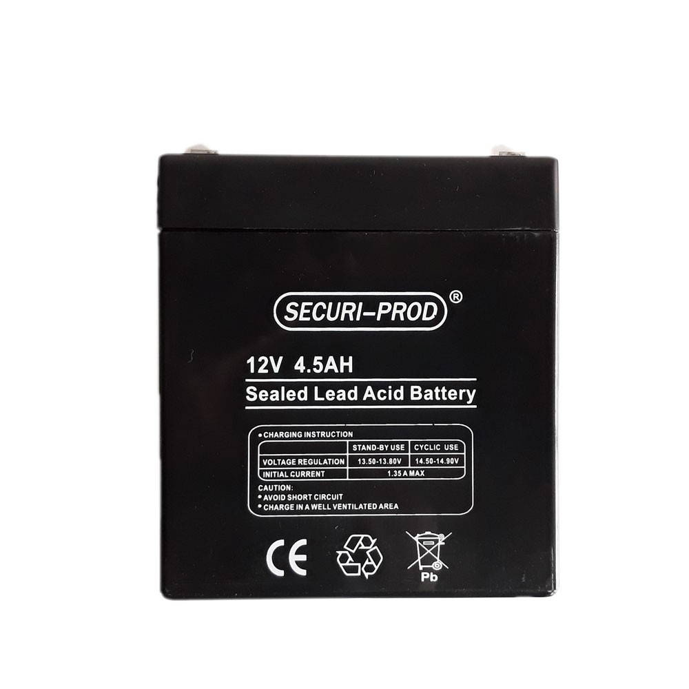 Securi-Prod Battery 12V 4.5AH SLA