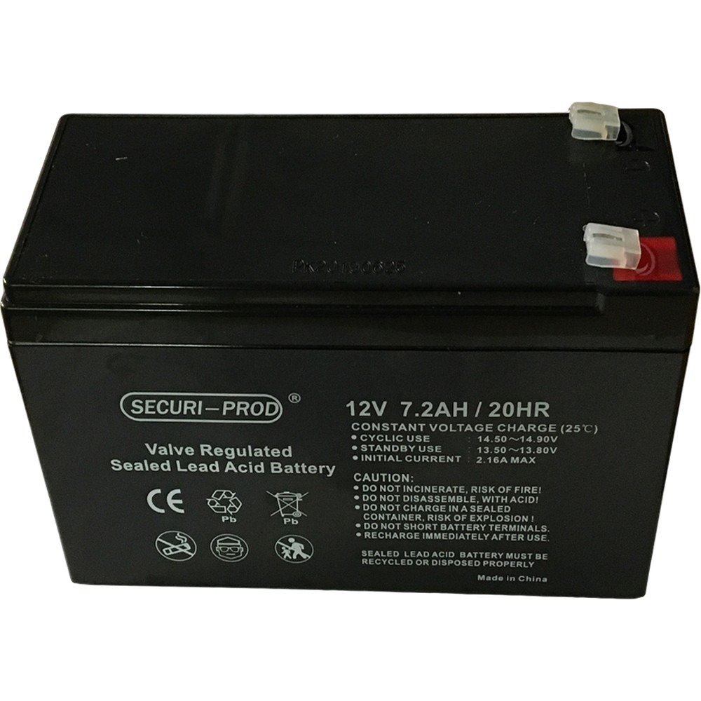 Securi-Prod Battery for Backup Power 12V 7AH
