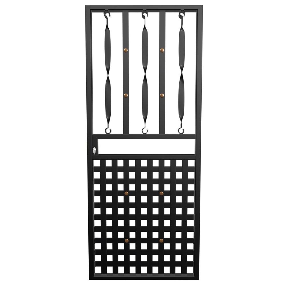 Xpanda Basketweave Gate
