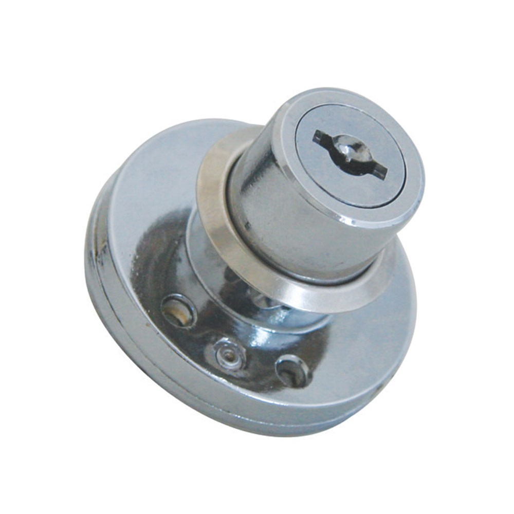 BBL Cupboard Drawer Lock 22mm NP