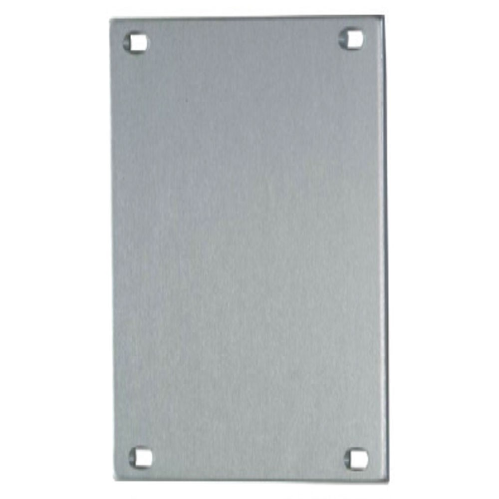 Union Push Plate 76mm Blank