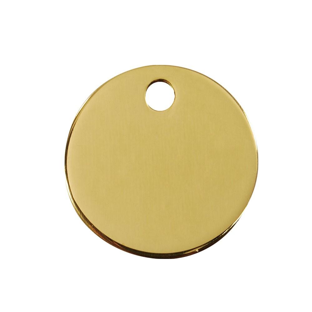 Fortis Keytag Brass 32mm