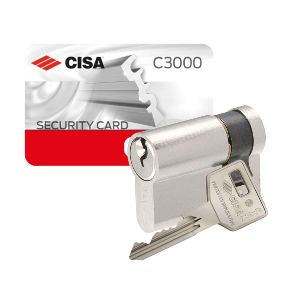 Cisa C3000 Euro Single Cylinder