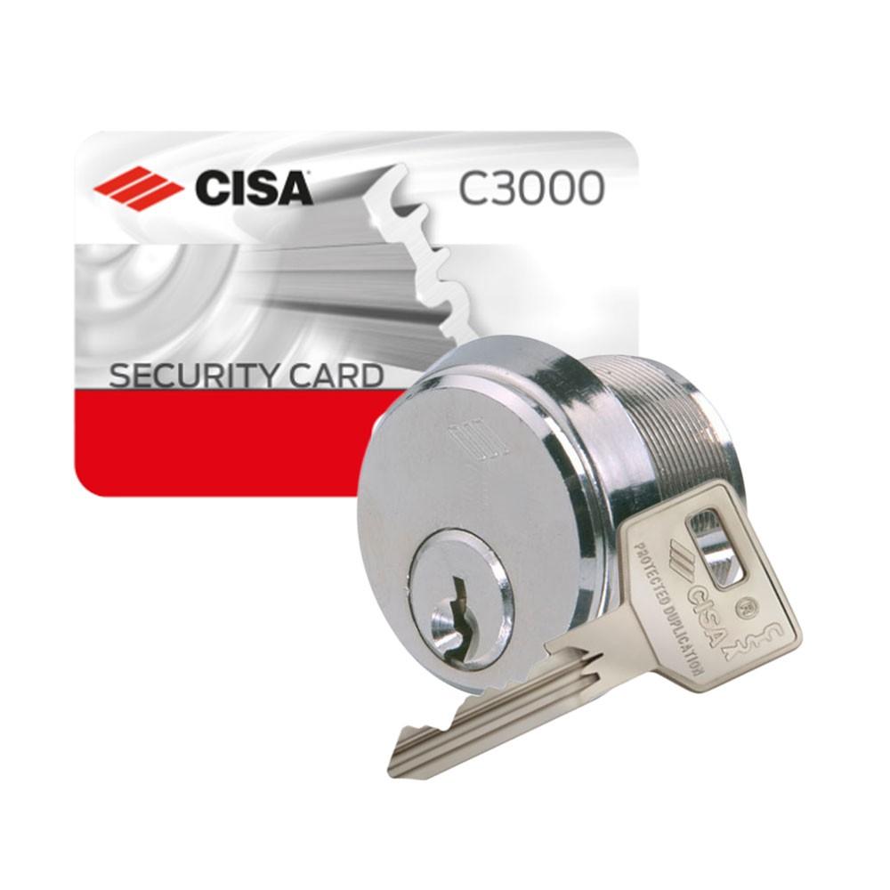 Cisa C3000 Threaded Cylinder